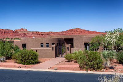 St George Single Family Home For Sale: 2228 Chaco Trail