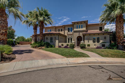 St George Single Family Home For Sale: 1292 S Fuentes Dr