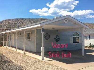 Hurricane Single Family Home For Sale: 34 Quail Creek Dr #34