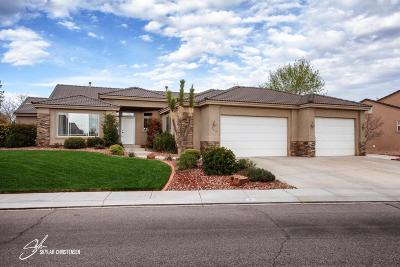 Hurricane Single Family Home For Sale: 754 N 2460 W