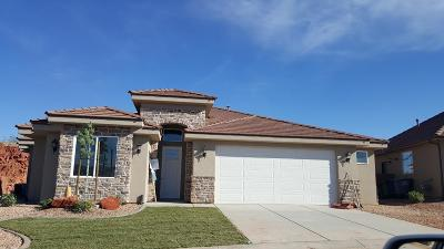 St George Single Family Home For Sale: 2166 E Colorado Cir