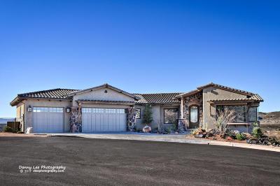 St George Single Family Home For Sale: 1153 W Fandango