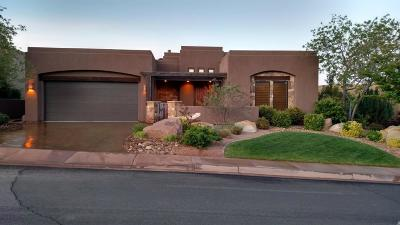 St George Single Family Home For Sale: 1723 W Red Cloud Dr