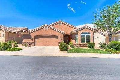 Ivins, Santa Clara, St George, Washington Single Family Home For Sale: 4248 S Magellan Dr
