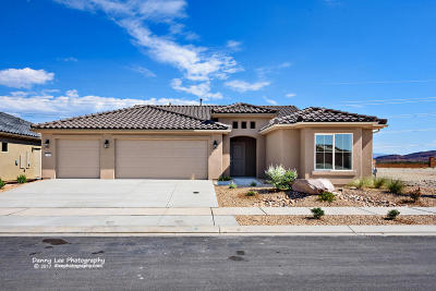 Ivins, Santa Clara, St George, Washington Single Family Home For Sale: 1124 W Desert Sparrow Dr