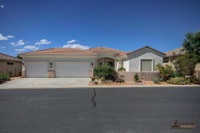 St George Single Family Home For Sale: 1582 Windswept Dr