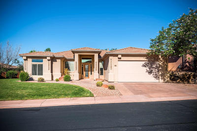 St George Single Family Home For Sale: 1565 N Sage Dr