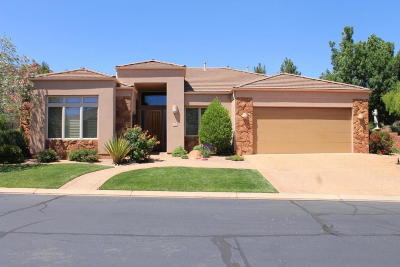 Ivins Single Family Home For Sale: 140 N Tuacahn #21