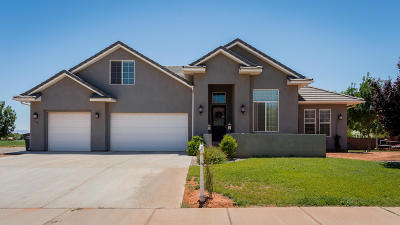 Ivins Single Family Home For Sale: 13 W 200 S
