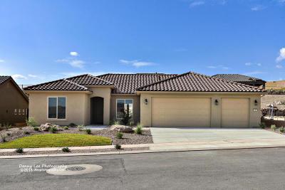 Ivins, Santa Clara, St George, Washington Single Family Home For Sale: 1485 W Whitestone