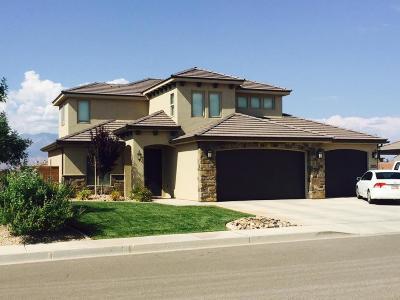St George Single Family Home For Sale: 2935 E Carmine Dr