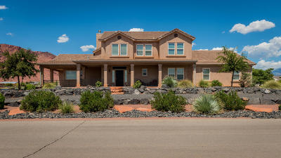 Ivins Single Family Home For Sale: 873 E Mesa Vista Rd