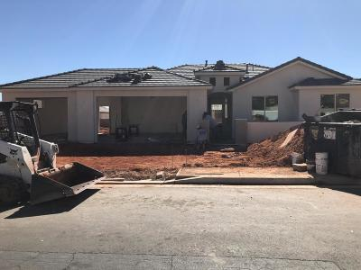 Ivins Single Family Home For Sale: 42 E 600 S
