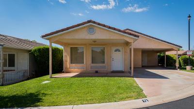 Washington UT Single Family Home For Sale: $165,000