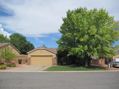 Ivins Single Family Home For Sale: 469 S 680 E