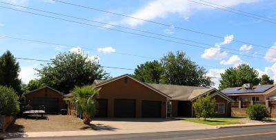 Ivins Single Family Home For Sale: 276 S 200 E