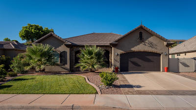 St George UT Single Family Home For Sale: $323,000