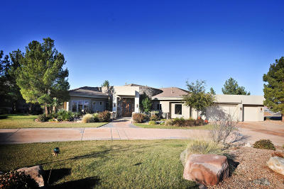 St George UT Single Family Home For Sale: $969,000