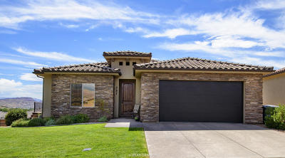 Washington UT Single Family Home For Sale: $319,900