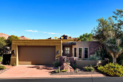 St George Single Family Home For Sale: 2410 W Entrada Trail #37