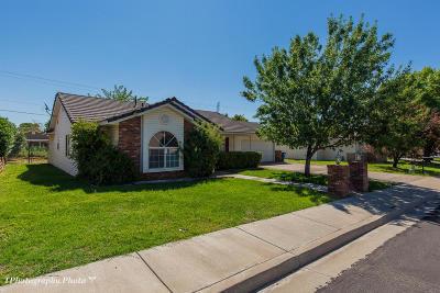 Washington Single Family Home For Sale: 512 N 800 E