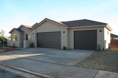Ivins Single Family Home For Sale: 54 E 600 S
