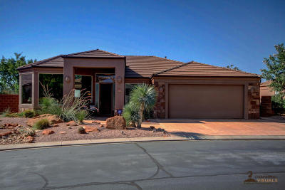 Ivins Single Family Home For Sale: 140 Tuacahn Dr #54