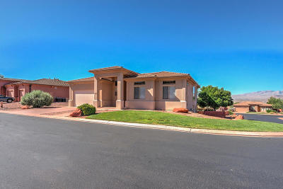 St George Single Family Home For Sale: 1627 N Hummingbird