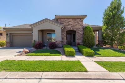 Ivins, Santa Clara, St George, Washington Single Family Home For Sale: 4884 Morane Manor Dr