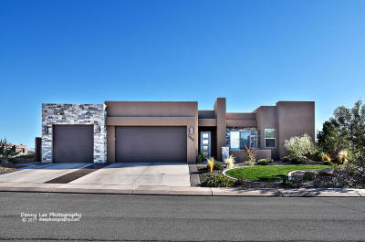 Hurricane Single Family Home For Sale: 3259 S Red Sands Way