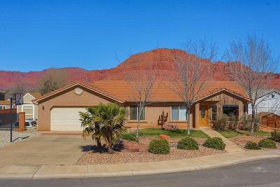 Ivins Single Family Home For Sale: 67 E 725 S