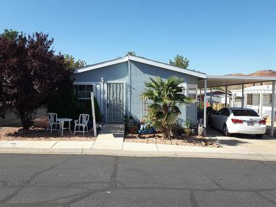 Hurricane Single Family Home For Sale: 73 N 3820 W