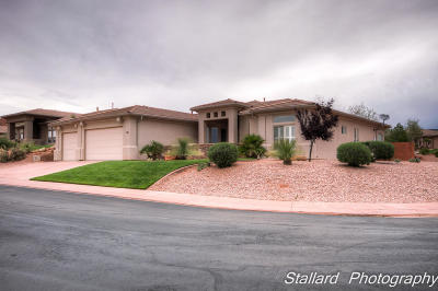 St George Single Family Home For Sale: 1432 W Palo Verde