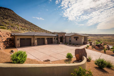 St George UT Single Family Home For Sale: $795,000