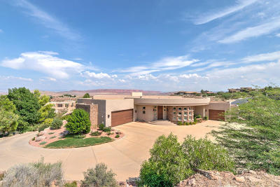 St George Single Family Home For Sale: 1938 S Stone Canyon