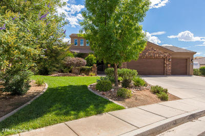 St George Single Family Home For Sale: 2372 Coyote Springs