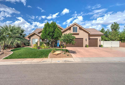 St George Single Family Home For Sale: 1958 S 2740 E