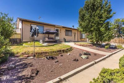 Washington Single Family Home For Sale: 327 Cholla