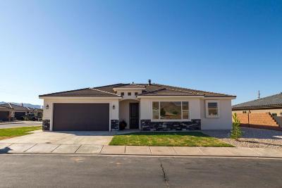 Hurricane Single Family Home For Sale: 3429 W 150 N