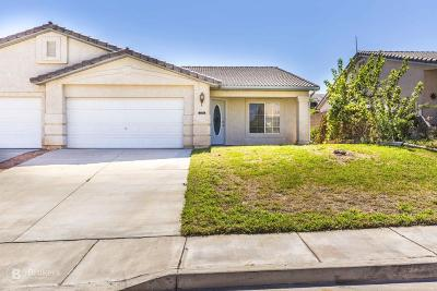 Hurricane Single Family Home For Sale: 2193 W 70 S