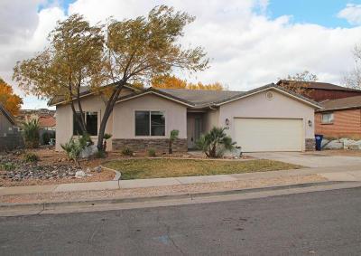 Washington Single Family Home For Sale: 287 N Cholla Dr