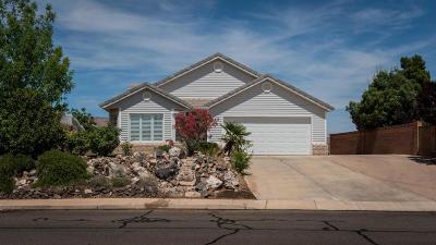 Hurricane Single Family Home For Sale: 862 N 100 W