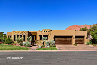 St George Single Family Home For Sale: 3052 N Snow Canyon Parkway #93