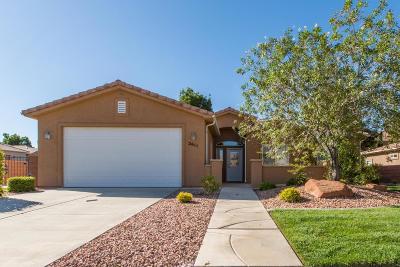 Hurricane Single Family Home For Sale: 2611 W 510 N