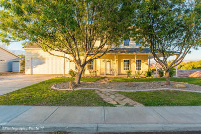 Hurricane Single Family Home For Sale: 3886 W 200 N