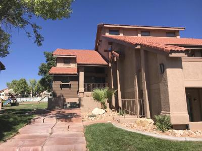 St George UT Condo/Townhouse For Sale: $125,500