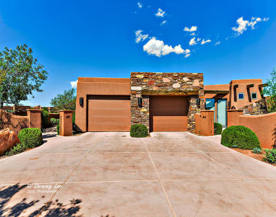 St George Single Family Home For Sale: 2588 W Sinagua #8