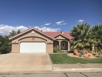 Hurricane Single Family Home For Sale: 2659 W 290 N