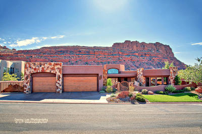 St George Single Family Home For Sale: 3052 N Snow Canyon Parkway #73