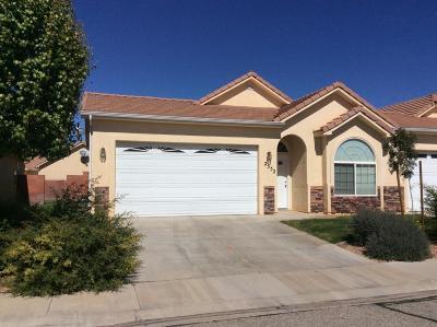 Hurricane Condo/Townhouse For Sale: 2552 W 210 N